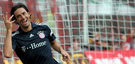 Luca Toni wants to win Bayern the Champions League