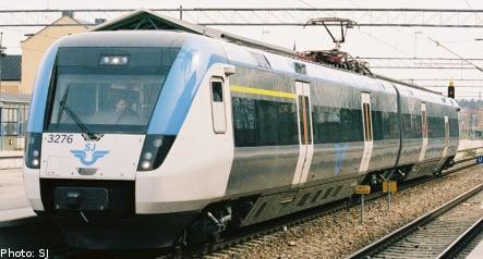 Swedish train breaks speed record