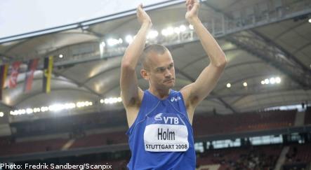 High jumper Holm announces retirement