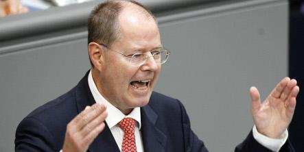 Steinbrück sees Germany weathering global financial crisis
