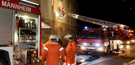 Dozens rescued from Mannheim fire
