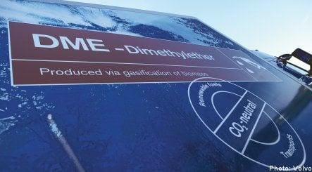 Volvo gives go-ahead for black liquor car fuel