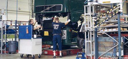 New staff cuts from Volvo Trucks