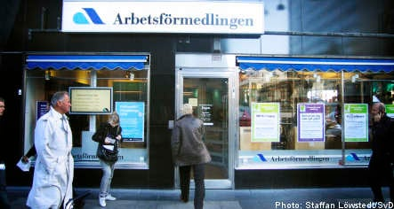 How does Swedish unemployment insurance work?