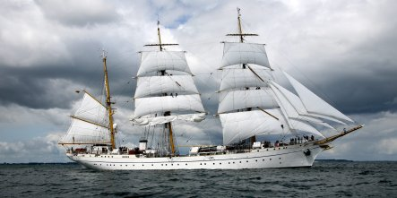 Gorch Fock sailor missing at sea