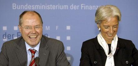 American financial crisis sparks German schadenfreude