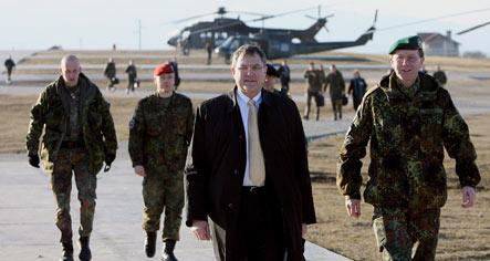 Berlin wants EU peacekeepers to stay in Bosnia