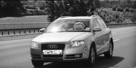 Muppet caught speeding in Bavaria