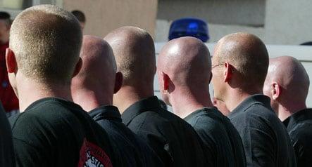 Police stage nationwide raids on neo-Nazi youth organization