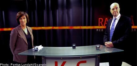 Reinfeldt and Sahlin spar in debate