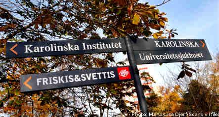 Dead man dumped at Karolinska hospital