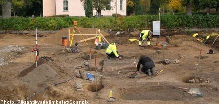 Swedish archaeologists uncover Viking-era church