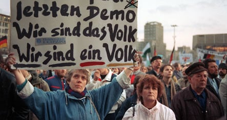 Leipzig remembers peaceful revolution in East Germany