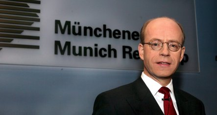 Munich Re boss warns German banks still under threat