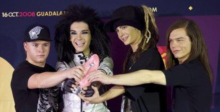 Teen band Tokio Hotel wins at Latino MTV awards