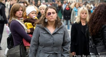 'Battered and bruised' women in Malmö protest