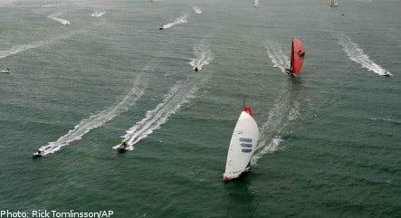 Swedish yachts lead Volvo Ocean race chase