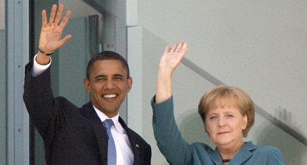 German leaders congratulate Obama
