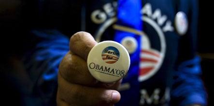 Berliners back Obama amid US election fever