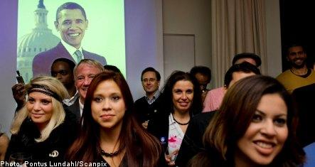 Sweden welcomes Obama