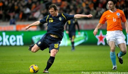 Sweden falls to the Netherlands in football friendly