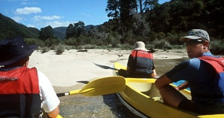 German kayaker survives rapids accident in New Zealand