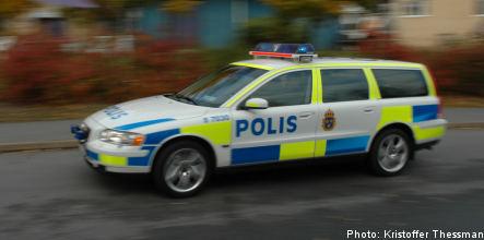 Police solve six percent of Sweden's crimes