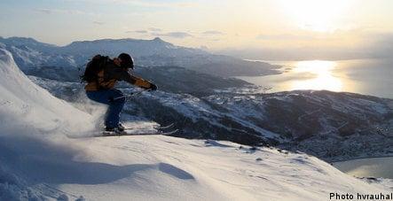Winter rail destinations: Narvik