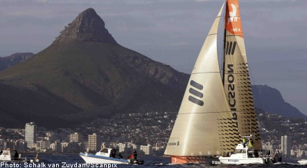 Swedish yacht wins first leg of Volvo race