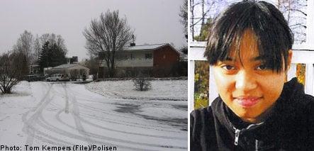 Indonesian girl, 16, missing in Sweden