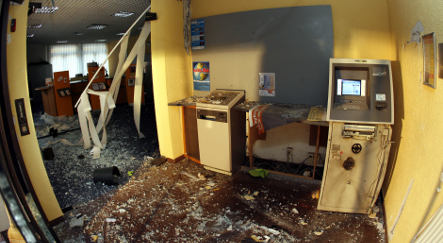 Police arrest three men for blowing up ATMs