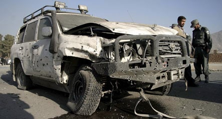 German military attache targeted in Afghanistan