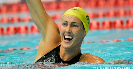 Alshammar sets new swimming world record