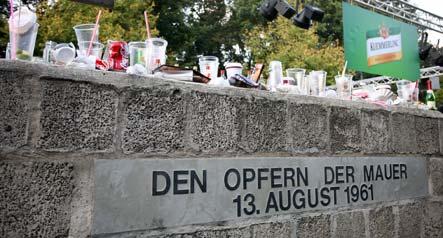 German youth fail to see Berlin Wall shadow