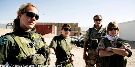 Little support for expanding Sweden's presence in Afghanistan