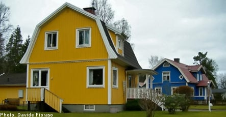 Slump continues for Swedish housing prices