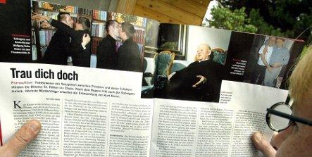 Suspended gay sex priest employed in Munich parish
