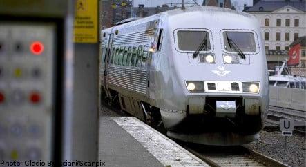 High speed trains in mass recall