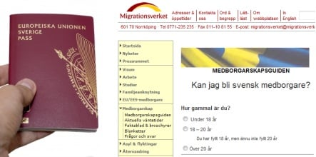 Web test helps people interested in becoming Swedish