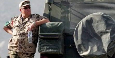 German troops in Afghanistan drink copious amounts of booze