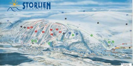Swedish town and ski resort for sale