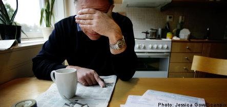 Swedish households remain pessimistic