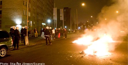 Unrest continues near vacated Malmö mosque