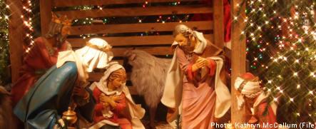 Baby Jesus stolen from bible belt crib