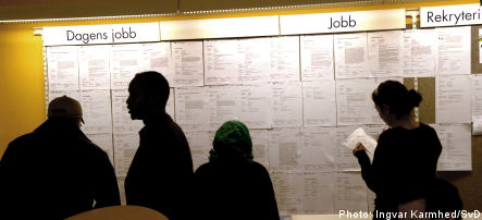 Swedish job losses set to soar in 2009