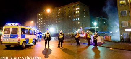 Rosengård riots abate after two violent nights