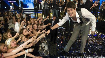 Maltese heartthrob sings home Swedish Idol prize