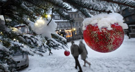Wintry weather could bring white Christmas
