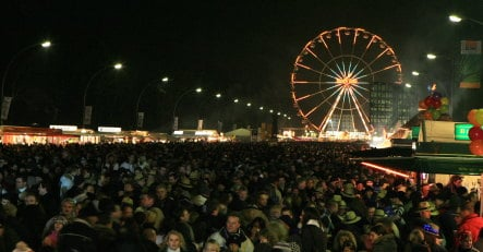 Berlin ready for Germany's biggest New Year's party