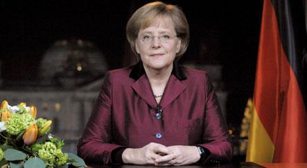 Merkel tells Germans to unite to beat crisis